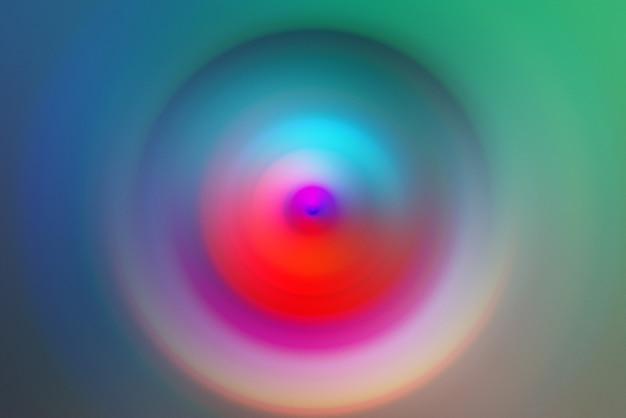 Desfoque de movimento radial, fundo de cor criativo abstrato, espaço de cópia