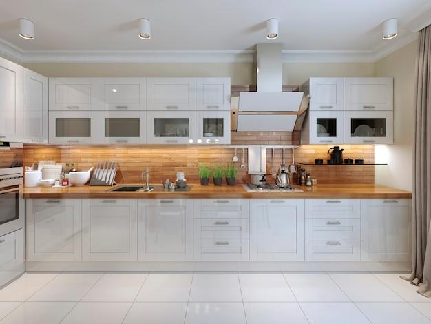 Design contemporâneo de cozinha