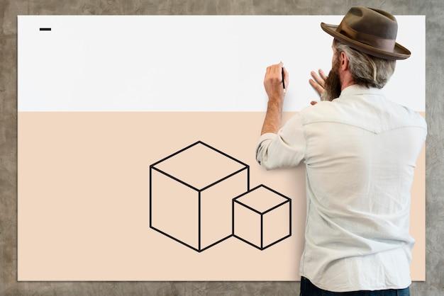 Design criativo inspirado único especial