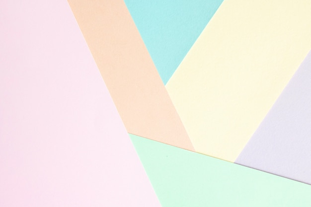 Design criativo para papel de parede pastel.