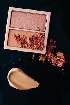 Design de cosméticos detalhados de beleza e maquiagem