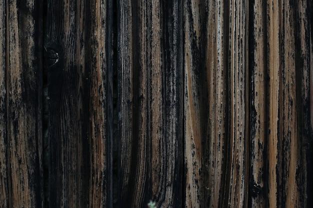 Design de espaço com textura de madeira escura