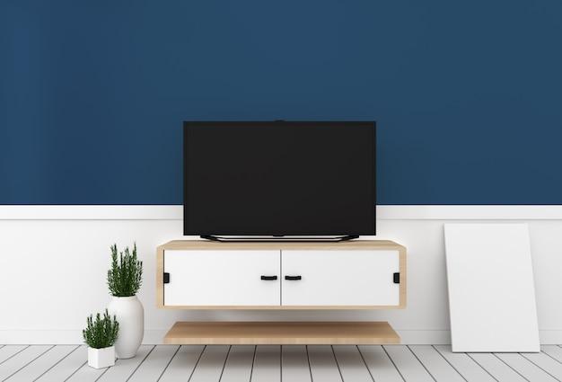 Design de gabinete de tv inteligente