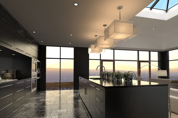 Design de interiores de luxo
