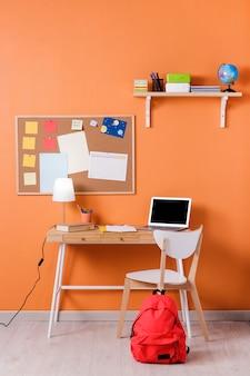 Design de interiores de mesa para crianças