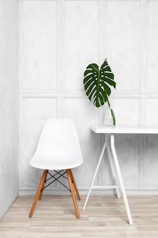 Design de interiores do escritório em casa criativo