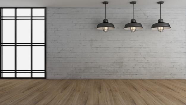 Design de interiores industrial e decoração