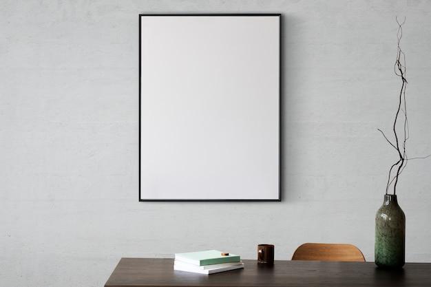 Design de interiores minimalista de sala de estar