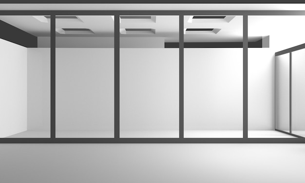 Design de interiores moderno 3d