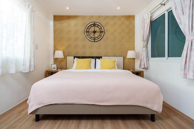 Design de interiores no quarto da casa