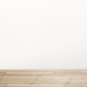 Design de interiores vazio e minimalista com luz natural