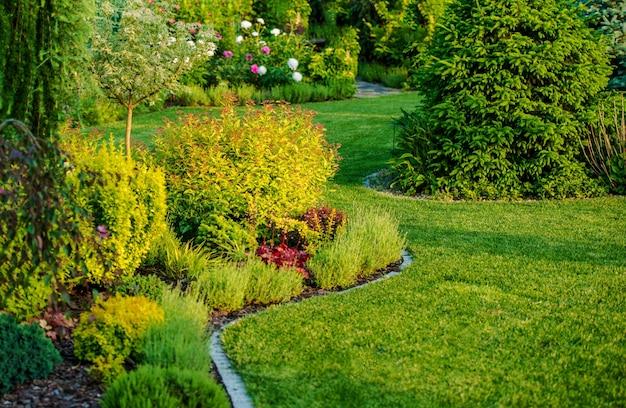 Design de jardim de casa
