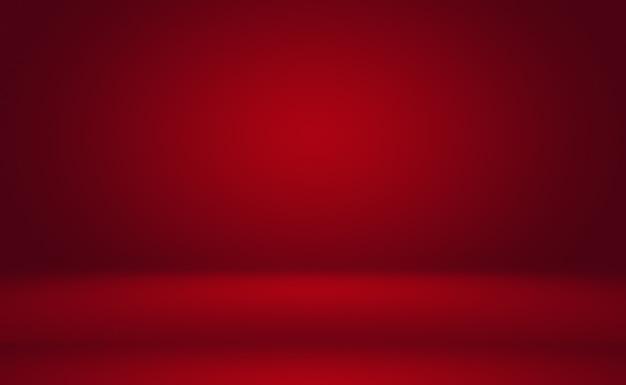Design de layout abstrato luxuoso e macio para namorados em vermelho natal