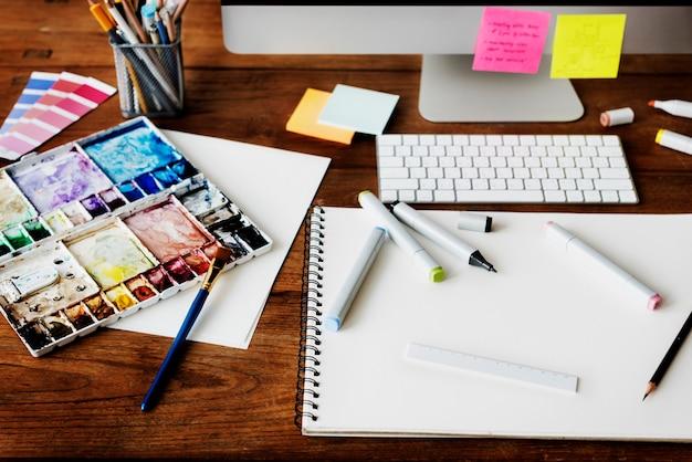 Design de ocupação criativa de idéias