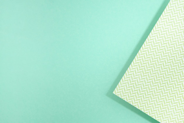 Design de papel de polígono azul espaço cópia
