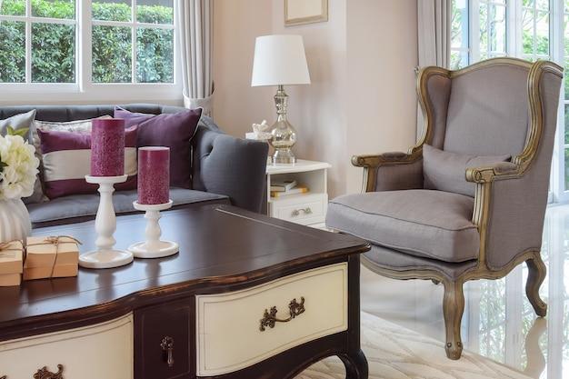 Design de sala de luxo
