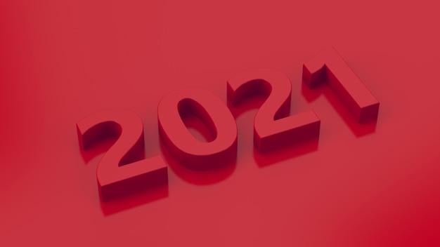 Design de tipografia vermelha