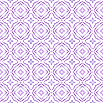 Design desenhado à mão arabesco. design de verão chique boho roxo surpreendente. estampado têxtil pronto a buscar, tecido de biquíni, papel de parede, embrulho. borda desenhada da mão árabe oriental.