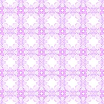 Design desenhado à mão arabesco. projeto chique do verão do boho lindo roxo. têxtil pronto para impressão divina, tecido de biquíni, papel de parede, embrulho. borda desenhada da mão árabe oriental.