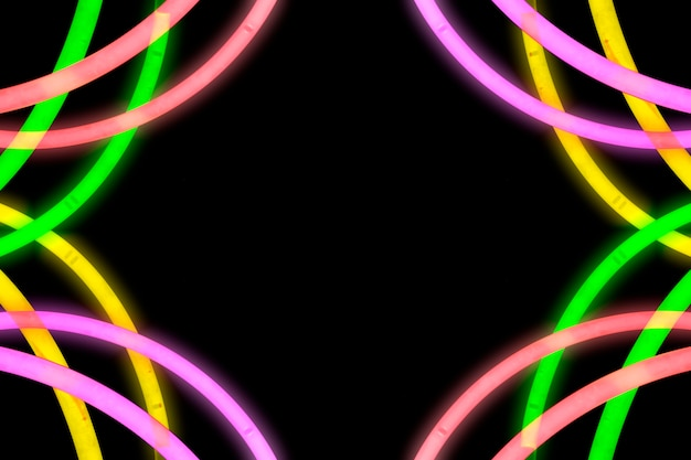 Design feito de tubo de luz neon