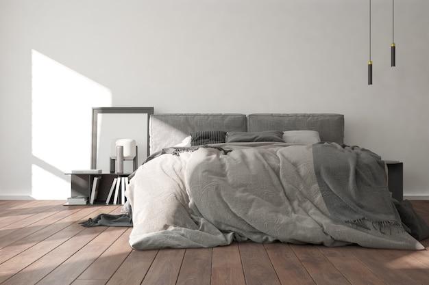 Design interior moderno do quarto