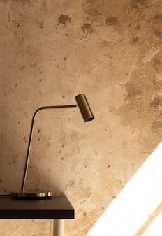 Design minimalista de espaço de trabalho doméstico