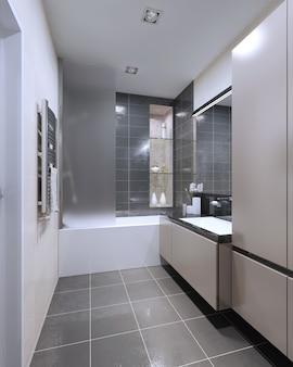 Design moderno de banheiro