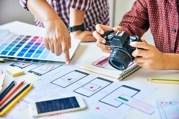 Designer gráfico criativo