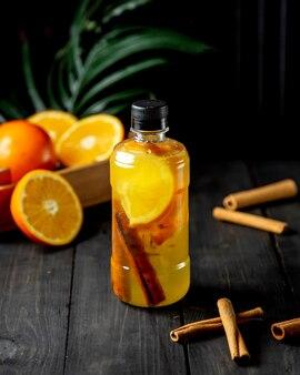 Desintoxicação com laranja e canela