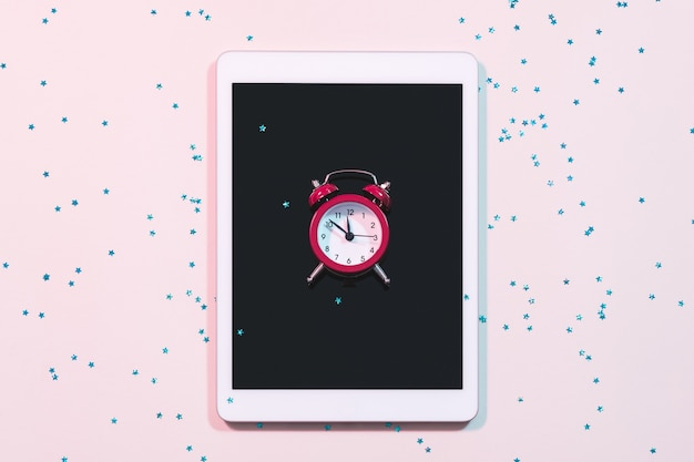 Despertador gerenciamento de tempo e dependência de mídia social