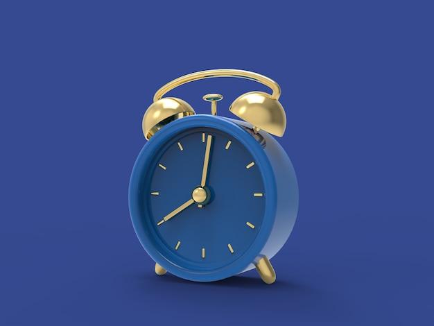 Despertador no relógio processado