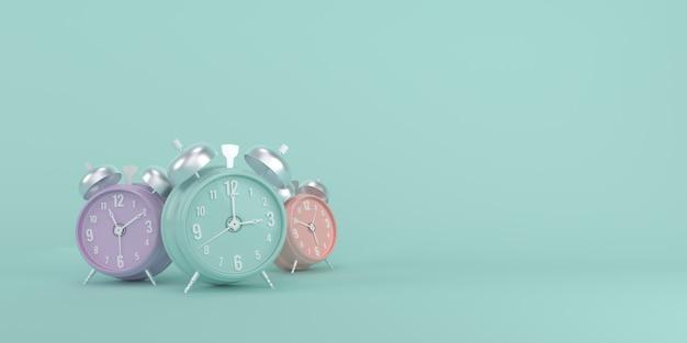 Despertadores coloridos