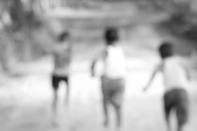 Destruído um grupo de crianças elementares