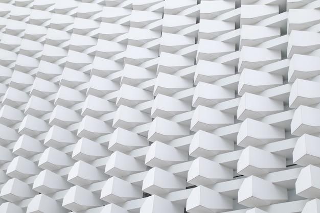 Detalhe da arquitetura trama de caixa moderno estrutura padrão construção