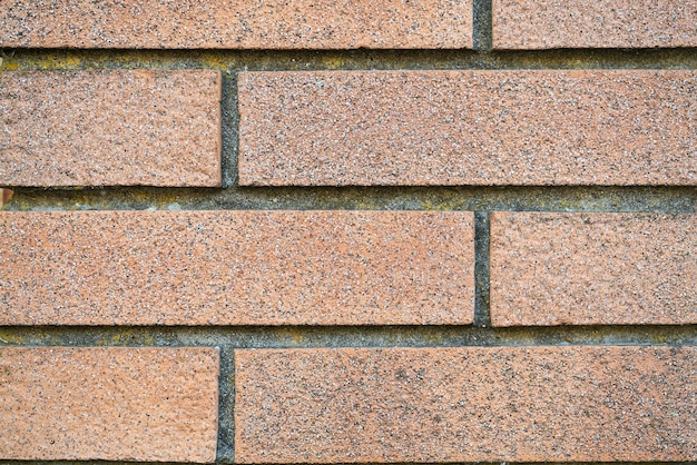 Detalhe da textura de tijolos, textura de parede de alta resolução