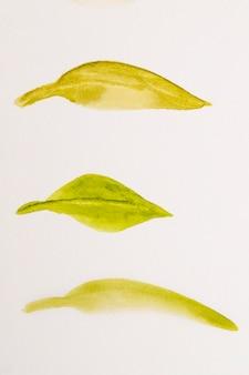 Detalhe de aquarela close-up na textura