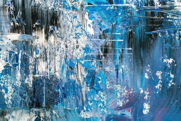 Detalhe, de, artisticos abstratos, óleo, pintado, fundo