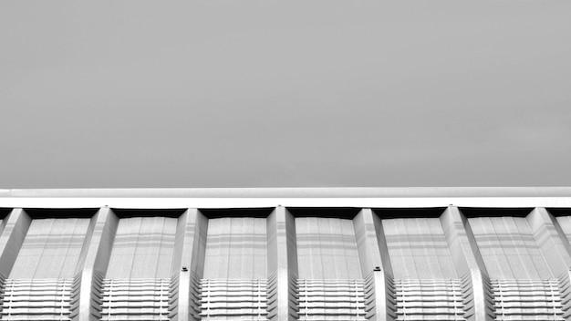 Detalhe, de, metal, telhado, superfície, fundo