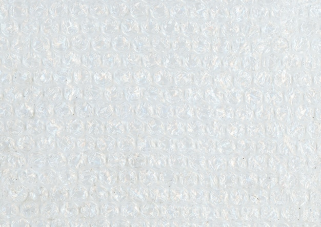 Detalhe de plástico bolha