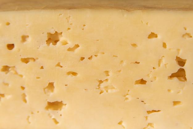 Detalhe de queijo tradicional brasileiro