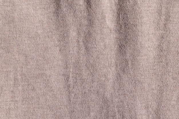 Detalhe de textura de poliéster de pano de tecido vazio e fundo de matéria têxtil.