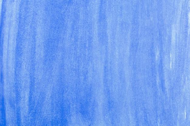 Detalhe do azul abstrato pintado em fundo de papel