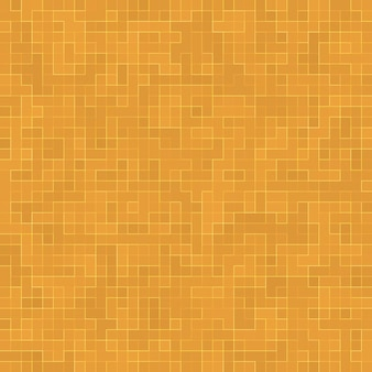 Detalhe do edifício adornado do mosaico cerâmico abstrato da textura mosiac do ouro amarelo. teste padrão sem emenda abstrato. pedras cerâmicas coloridas abstratas.