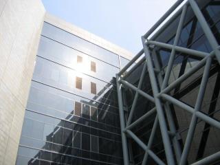 Detalhe edifício moderno