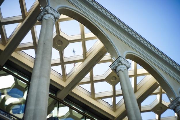 Detalhes arquitetônicos exteriores