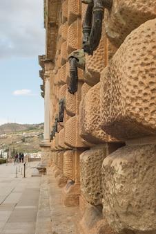 Detalhes da alhambra em granada
