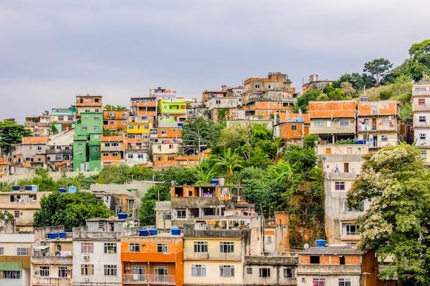 Detalhes da colina de prazeres no rio de janeiro - brasil