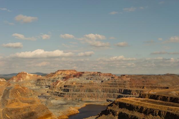 Detalhes das minas de riontinto