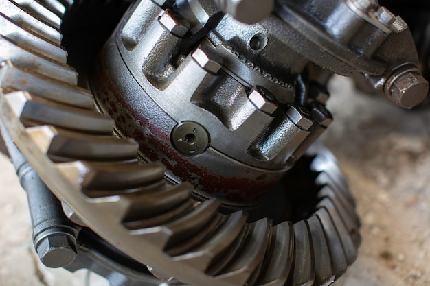 Detalhes de engenharia de automóveis de peças de motor de engrenagens