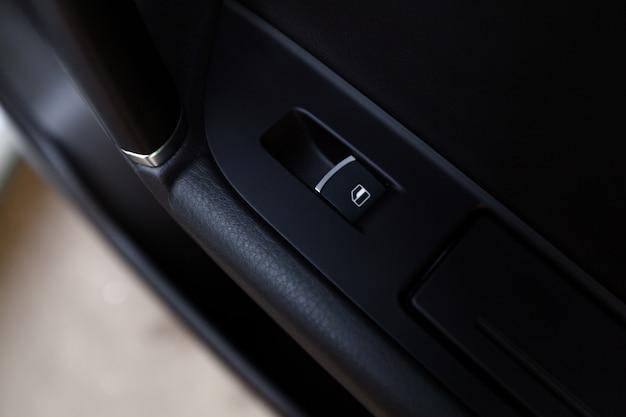 Detalhes de interior de carro moderno